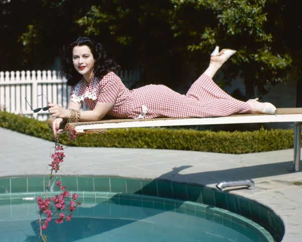 Hedy Lamarr in 1945.