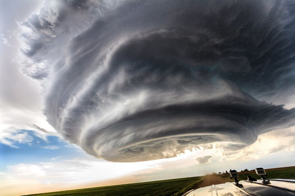 These incredible shots were captured by Marko Korosec, 31, a storm chaser on a recent month-long trip to the USA. The picture