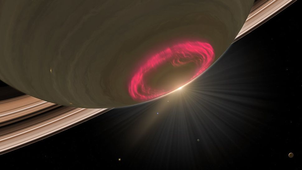Scientists first observed Saturn's auroras in 1979. Decades later, these shimmering ribbons of light still fascinate. For one