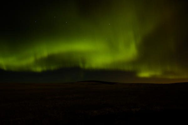 Great show of the #northernlights in #yyc tonight.