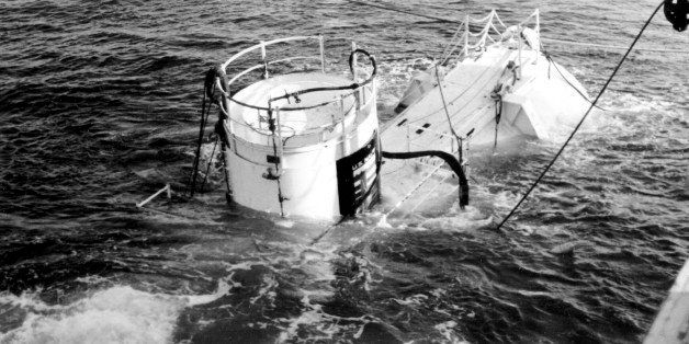 The Sealab II is shown in this U.S. Navy handout photo taken on Sept. 15, 1965. In the 1960s, the Navy sent teams of divers t