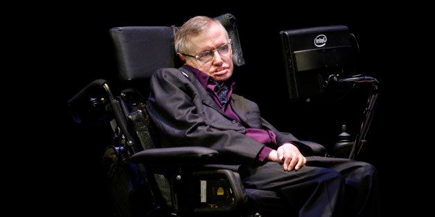 Physicist and best-selling author Stephen Hawking appears in Seattle, Saturday, June 16, 2012. Hawking was taking part in the