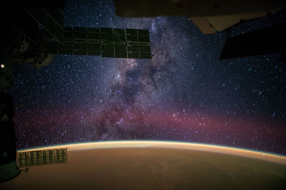 "NASA astronaut Reid Wiseman captured this image from the International Space Station and tweeted it on Sept. 28, writing, ""<a"
