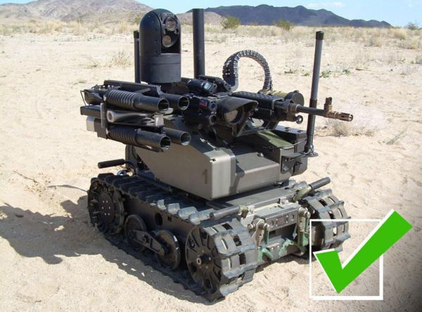 "The QinetiQ MAARS or Modular Advanced Armed Robotic System, is <a href=""https://www.qinetiq-na.com/products/unmanned-systems/"
