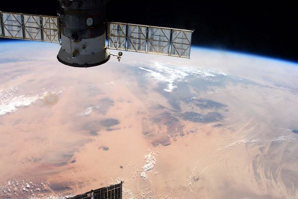Extensive #Africa desert of #Libya and #Chad.