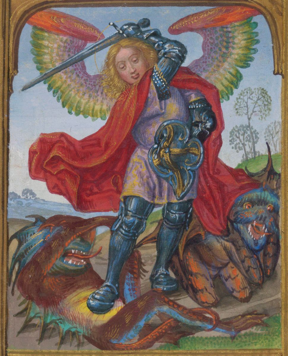 St. Michael with devil