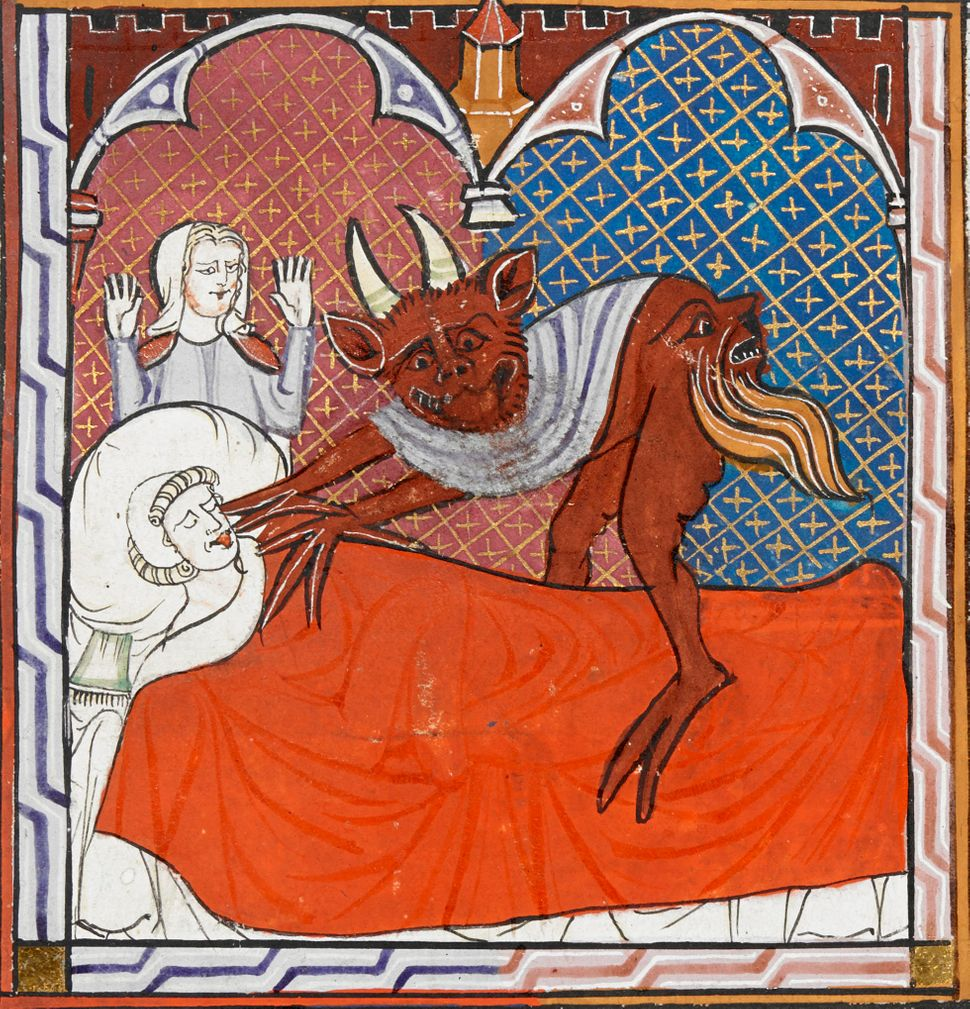 Devil and the deathbed