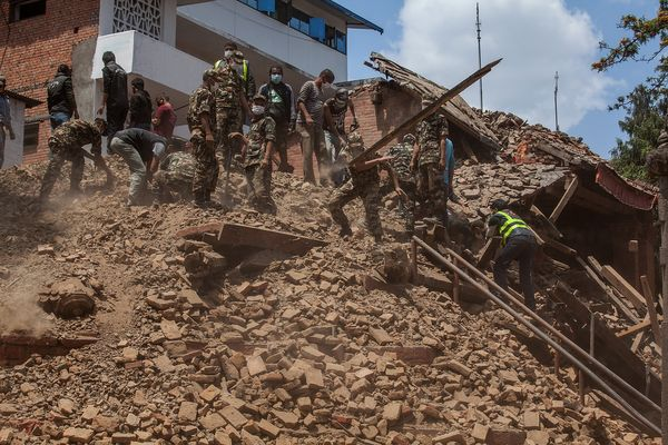 Nepal Earthquake Happened Right On Schedule, Scientists Say