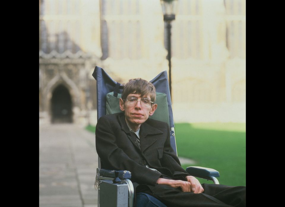 British theoretical physicist Stephen Hawking, Cambridge in January 1993. Photo: David Montgomery/Getty Images