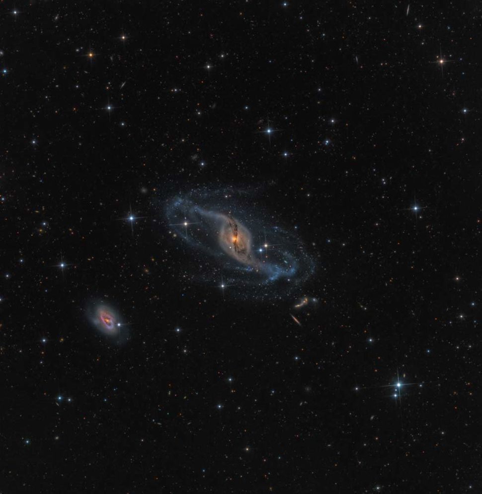 Robotic scope: NGC 3718 © Mark Hanson