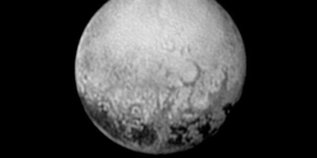 IN SPACE - JULY 11:  In this handout provided by the National Aeronautics and Space Administration (NASA), the dwarf planet P