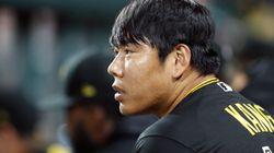 강정호가 726일 만의 메이저리그 복귀전에서 안타를