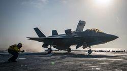 1억달러짜리 F-35 스텔스 전투기가 17년 역사상 처음으로
