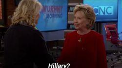 Dans cette série, Hillary Clinton postule pour un rôle de