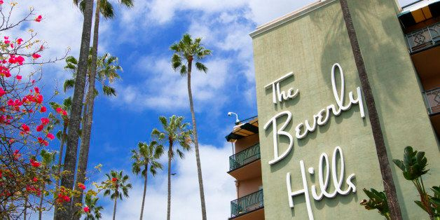 The Beverly Hills Hotel In Los Angeles
