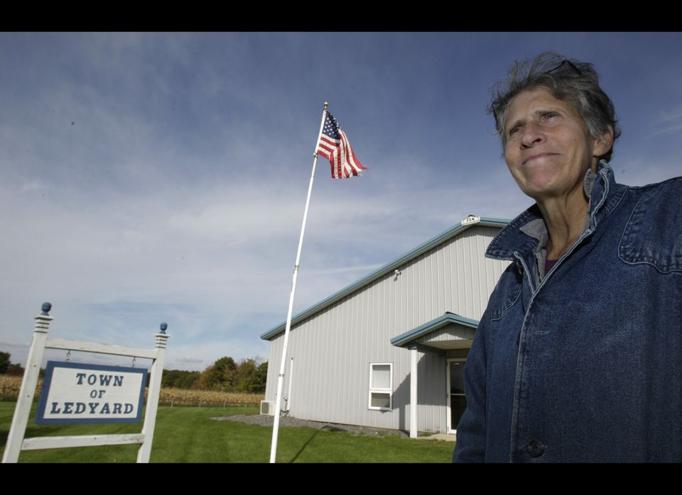 Rose Marie Belforti, the town clerk in Ledyard, N.Y., drew national attention after refusing to issue marriage licenses to sa