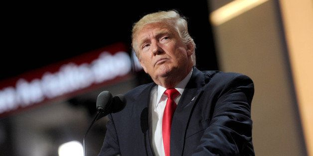 Photo by: Dennis Van Tine/STAR MAX/IPx 7/21/16 Donald Trump at day 4 of The Republican National Convention. (Cleveland, Ohio)