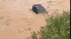 Ξεχείλισε το ποτάμι Ξεριάς στο Άργος. Εγκλωβισμοί οδηγών σε ΙΧ και κατοίκων σε