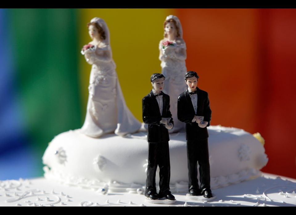 "An Iowa lesbian couple might have hoped to find a wedding cake that was both delicate and sweet, but they say <a href=""http:/"