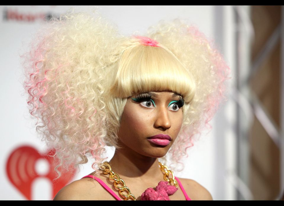 """Rap star Nicki Minaj really made the rounds this year.  She made the headlines by <a href=""""https://www.huffpost.com/entry/rih"""