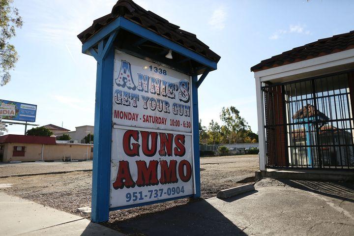 Annie's Get Your Gun is seen in Corona, California.