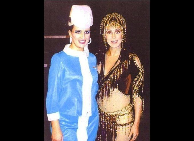 I supported Cher on her U.K. Farewell Tour.  If I could turn back time, I would do it all over again -- she was the best me