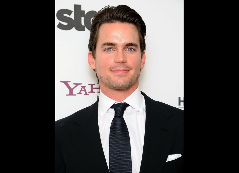 "The 34-year-old ""White Collar"" hunk <a href=""https://www.huffpost.com/entry/matt-bomer-comes-out-gay-thanks-partner_n_1272997"