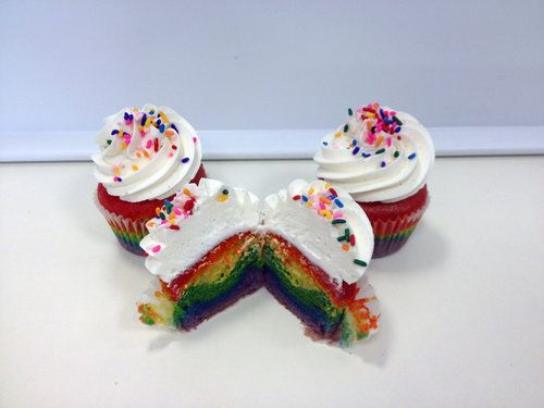 Sweet Avenue Bake Shop Preps Rainbow Pride Cupcakes In Support Of