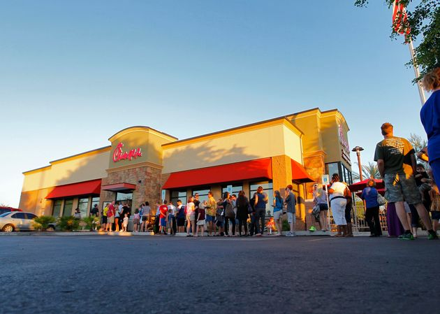 Chick-Fil-A Has 'Record-Setting Day' While Embroiled In Anti-Gay