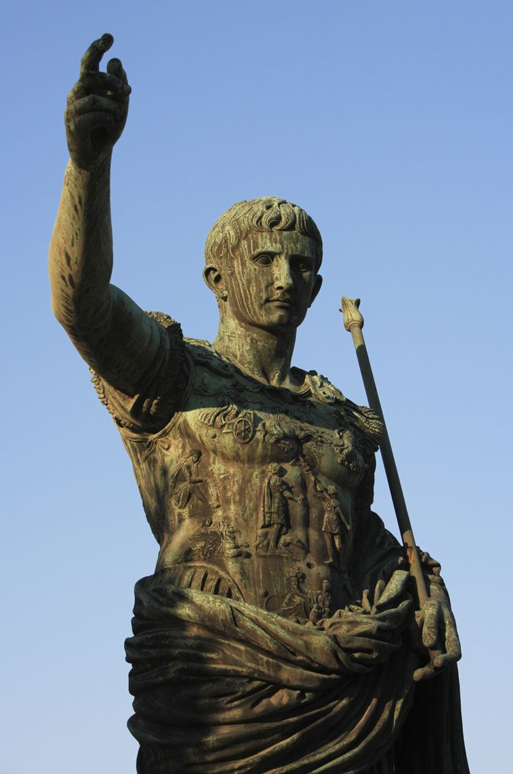 rome  imperial statue of...