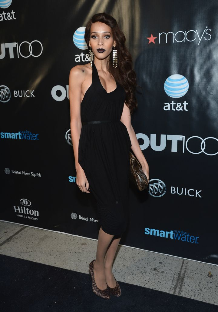 NEW YORK, NY - NOVEMBER 29:  Isis King attends OUT Magazine and Buicks celebration of The OUT100 on November 29, 2012 in New