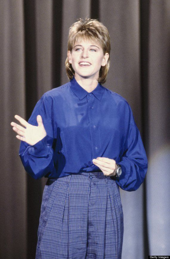 DeGeneres got her comedy start as the emcee at a standup club in in New Orleans. Videotapes of her performance led her to rec