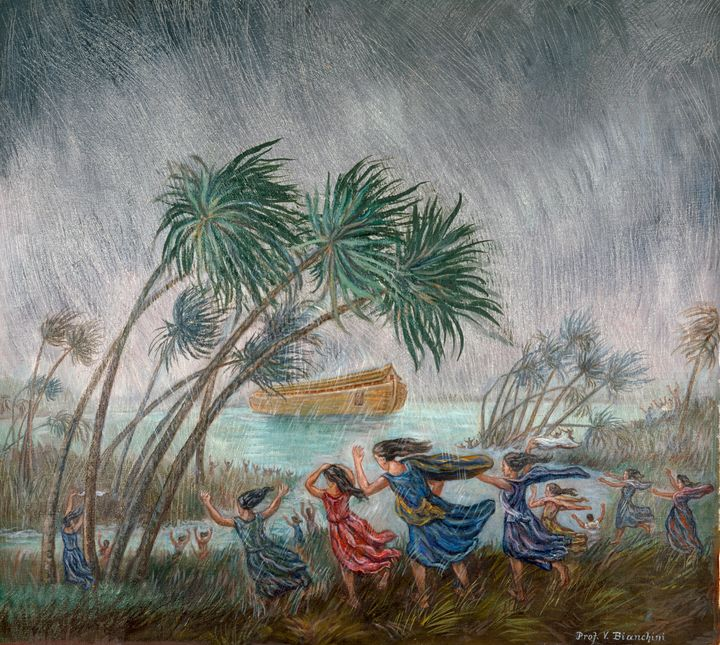 The Rains Came-Beginning of the Flood, by Vittorio Bianchini