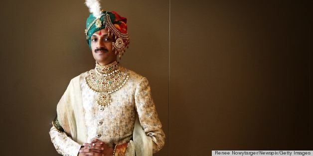 SYDNEY, AUSTRALIA - NOVEMBER 4:  (EUROPE AND AUSTRALASIA OUT) Openly gay Crown Prince Manvendra Singh Gohil of the state of R