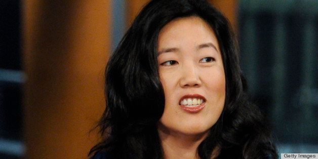 MEET THE PRESS -- Pictured: (l-r) ? Michelle Rhee, Founder & CEO, StudentsFirst, appears on 'Meet the Press' in Washington D.