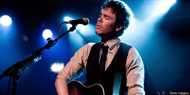 LONDON, UNITED KINGDOM - APRIL 18: Josh Ritter performs on stage at Scala on April 18, 2011 in London, United Kingdom. (Photo