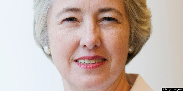 Annise Parker, mayor of Houston, stands for a portrait after an interview in New York, U.S., on Monday, Sept. 13, 2010. Parke