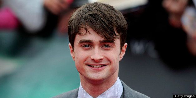 British actor Daniel Radcliffe attends the world premiere of Harry Potter and the Deathly Hallows - Part 2 in central London