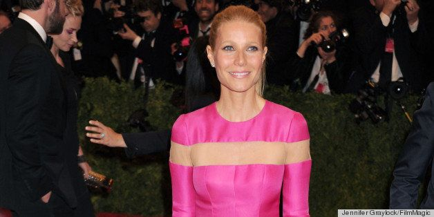 NEW YORK, NY - MAY 06:  Actress Gwyneth Paltrow attends the Costume Institute Gala for the 'PUNK: Chaos to Couture' exhibitio