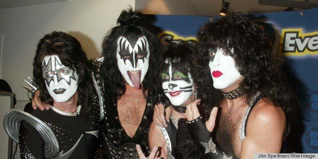 Tommy Thayer, Gene Simmons, Peter Criss and Paul Stanley of KISS (Photo by Jim Spellman/WireImage)