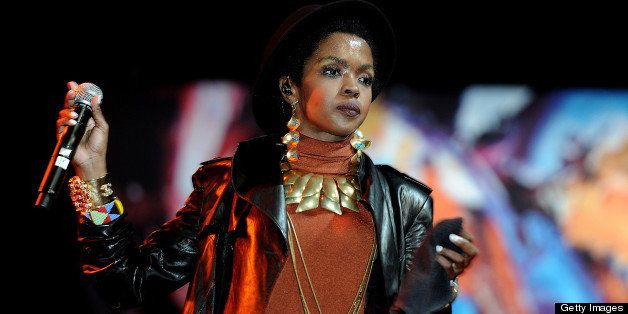 CAPE TOWN, SOUTH AFRICA - MARCH 31: (SOUTH AFRICA OUT) Lauryn Hill performing during the 13th Cape Town International Jazz at