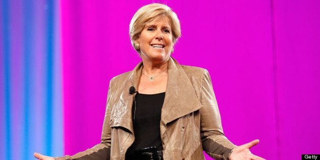LOS ANGELES, CA - OCTOBER 20:  Financial Expert Suze Orman speaks onstage at O You! presented by O, The Oprah Magazine, held