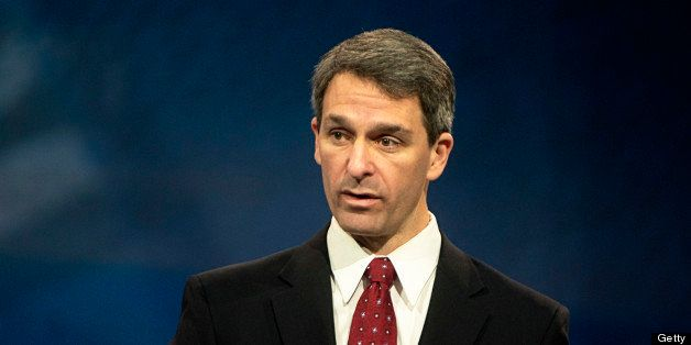 OXON HILL MD: MARCH 14 Ken Cuccinelli gives a speech at the Conservative Political Action Conference at the Gaylord Hotel Nat