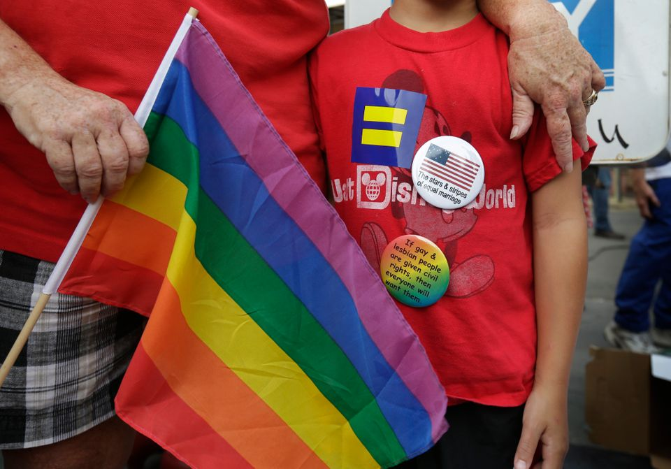 69 percent of Americans believe that government employees should NOT be able to refuse service to gay couples.