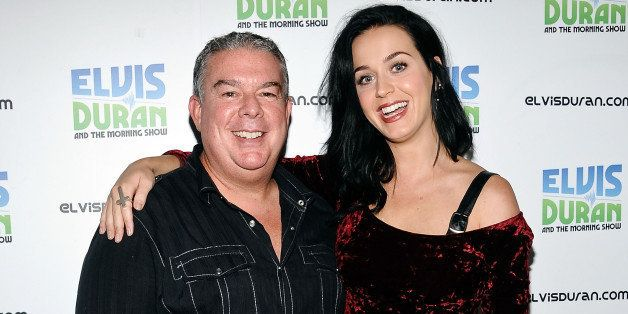 NEW YORK, NY - AUGUST 12:  Elvis Duran and Katy Perry visit 'The Elvis Duran Z100 Morning Show' at Z100 Studio on August 12,