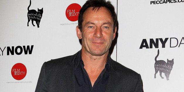 LONDON, ENGLAND - AUGUST 20:  Jason Isaacs attends the UK Gala Screening of 'Any Day Now' at Apollo Piccadilly Circus on Augu