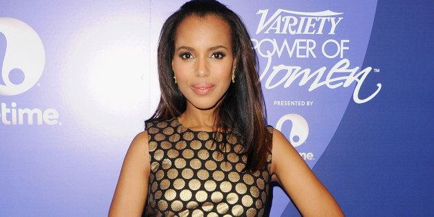 BEVERLY HILLS, CA - OCTOBER 04:  Actress Kerry Washington arrives at Variety's 5th Annual Power Of Women Event at the Beverly
