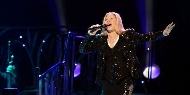 AMSTERDAM, NETHERLANDS - JUNE 06:  Barbra Streisand performs at the Ziggo Dome on June 6, 2013 in Amsterdam, Netherlands.  (P