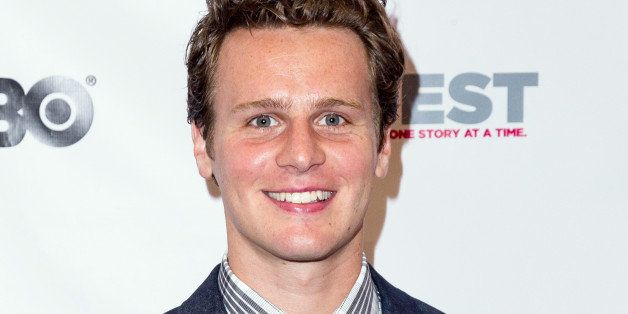 LOS ANGELES, CA - JULY 11:  Actor Jonathan Groff arrives at 13th Annual Outfest Opening Night Gala of 'C.O.G.' at Orpheum The