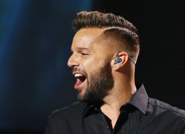 "Pop star Ricky Martin<a href=""http://abcnews.go.com/Entertainment/video/ricky-martin-gay-homosexual-rumors-2000-10239360"" tar"